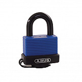 ABUS 04791 70IB/35 35mm Brass Marine Padlock Stainless Shackle Carded