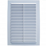 Air vent grille cover white ventilation plastic cover flat 220x110mm