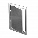 150x150mm Durable ABS Plastic Access Inspection Door Panel Silver Color