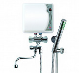 230 v electric instant bathroom shower and basin tap hot water heater 4,4kw