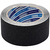 Draper 63384 3.7M X 50mm Black Heavy Duty Safety Grip Tape Roll