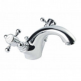 Eastgate Avon Traditional Mono Basin Mixer Tap 118.5mm H - Chrome
