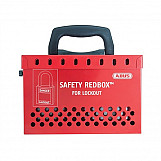 ABUS 298 B835 Safety Redbox For Group Lockout