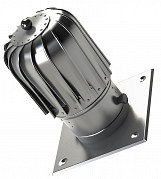 150mm slim chimney flue spinner acid resistant steinless steel spinning cowl with extra roof plate
