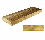 Bright small plank - wood-effect concrete decorative block paving slab for garden and patio