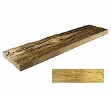 Bright plank - wood-effect concrete decorative block paving slab for garden and patio