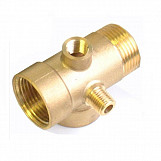 5 way brass pump r5 fittings connector for pressure vessels and gauges 1