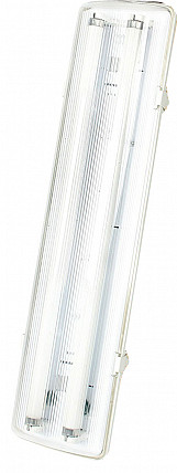 Defender Encapsulated Fluorescent Light Fittings Only - 110v
