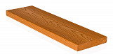 Durable Decorative Wood-effect Polymer Plank 10pcs 100cm Length 150x25mm Bright Pattern