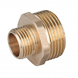 1 x 3/4in BSP Male Thread Pipe Reducer Nipple Brass Fittings Couplings