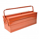 Bahco 3149-OR Orange Metal Cantilever Tool Box 21in
