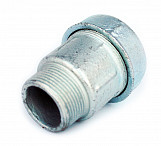 "1 1/2"" bsp male thread x 50 mm pipe compression joint fittings connector union"