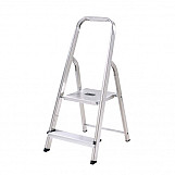 Abru 13012 Aluminium Step Ladder 2 Tread BS2037 Class 3 95KG Max Load