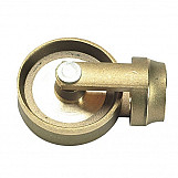 Bailey 1740 Brass Wheel