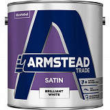 Armstead Trade Satin Brilliant White 2.5L 2.5L