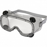 Delta Plus RUIZ 1 Clear Polycarbonate Safety Goggles