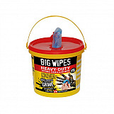 Big Wipes 2427 0000 4x4 Heavy-Duty Cleaning Wipes Bucket Of 240