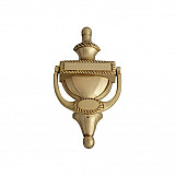Forge FGEDNOCGEOBR Door Knocker - Georgian Brass Finish 165mm