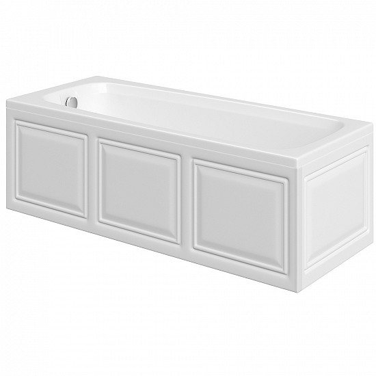 Trojan Derwent Trojancast Super Strength Single Ended Acrylic Bath - 1500 x 700