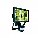 Byron ES400 Halogen Floodlight With PIR Black 400 Watt