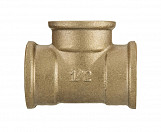 "1"" inch thread pipe tee connection fittings female cast iron brass"