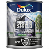 Dulux Weathershield Multi Surface 750ml Black