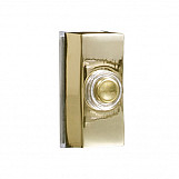Byron 7960B Wired Bell Push Brass