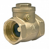 "1"" swing clack non-return check valve brass one-way valves"