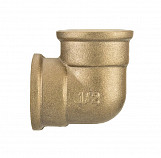 "1"" BSP Thread Pipe Connection Elbow Female x Female Screwed Fittings Iron Cast Brass"
