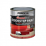 Ronseal 35404 Diamond Hard Doorstep Paint Tile Red 750ml