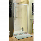 Eastgate 700 Pivot Shower Door 1850mm H x 645mm - 700mm W - Chrome