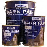 Bedec Barn Paint 2.5L White