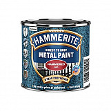 Hammerite HMMHFR250 Direct To Rust Hammered Finish Paint Red 250ml