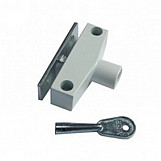 ERA 802-12 Window Snap Lock With Cut Key White
