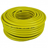 Faithfull CT072-023-108-BKYE-02 Heavy-Duty Reinforced Builder's Hose 50m 12.7mm (1/2in) Diameter