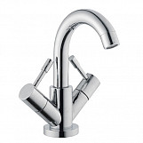 Eastgate Arno Mono Basin Mixer Tap with Waste 196mm H - Chrome