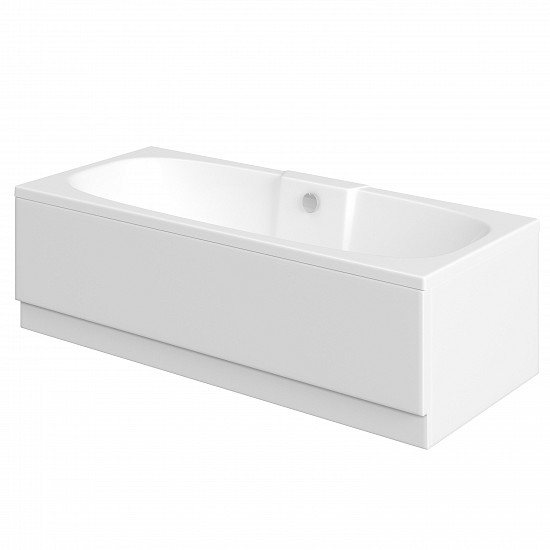 Trojan Algarve 5mm Double Ended Acrylic Bath - 1800 x 800