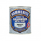 Hammerite DGSI750 Direct To Galvanised Metal Paint Silver 750ml