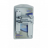 Gridlock Palace Lever Latch Polished Chrome Polished Chrome