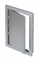 150x150mm Durable ABS Plastic Access Inspection Door Panel Satin Silver Color