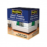 Rustins PCFK4000 Clear Plastic Floor Coating Kit Gloss 4 Litre