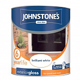 Johnstone's Paint Exterior Gloss 750ml Brilliant White