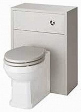 Eastgate Astley Stone Grey 500mm WC Unit With BTW Toilet