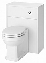 Eastgate Astley White Ash 500mm WC Unit With BTW Toilet