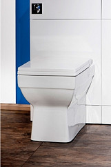 Eastgate Dice Square Back To Wall Toilet With Soft Close Seat