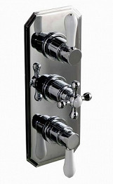 Eastgate Chrome Traditional Concealed Triple Shower Valve