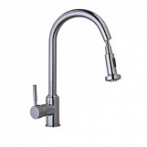 Eastgate Chrome Kitchen Mixer Tap With Pull Out Rinser