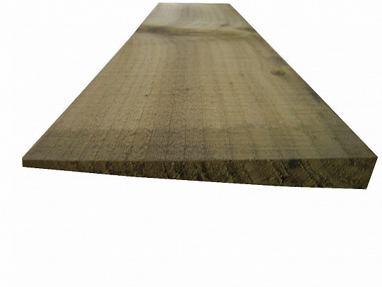 Feather Edge Fencing Treated Wood Close Board 150mm - L: 1.2m - pack of 20