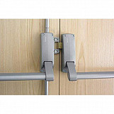 Briton Double Rebated Door Panic Set - reversible