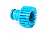 "1"" thread female tap connector - 1"" 1inch quick connect heavy duty hose system quickfit"
